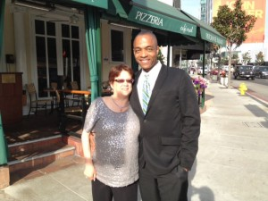 Rick and Judy - Lunch Date - March 5, 2012 - Courtesy of Rick Worthy
