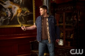 Dean holding the First Blade