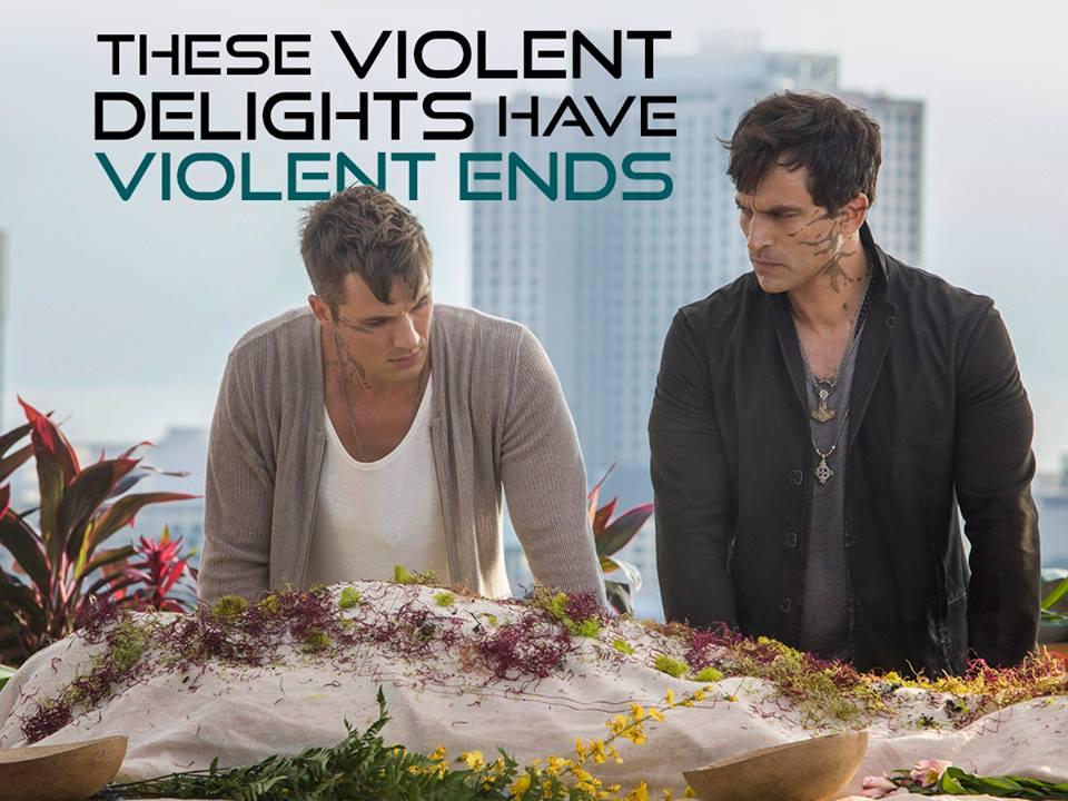 Violet Delights Have Violent Ends