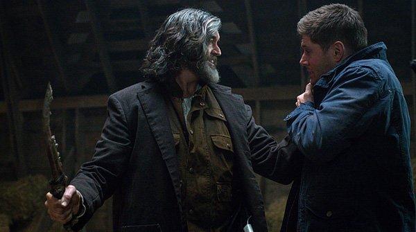 Cain threatening Dean