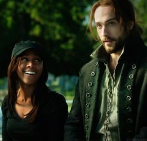 Nicole Beharie (Abbie) and Tom Mison (Ichabod)