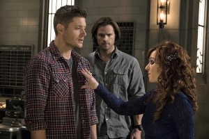 Dean, Sam, and Rowena